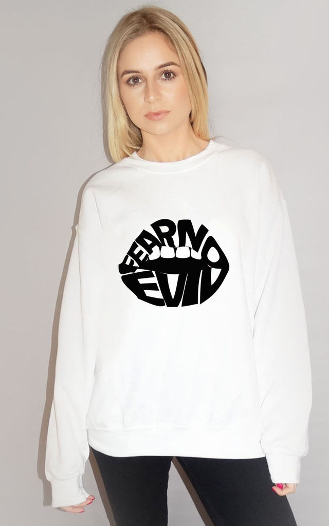 Jumper in White Fear No Evil by Sade Farrell