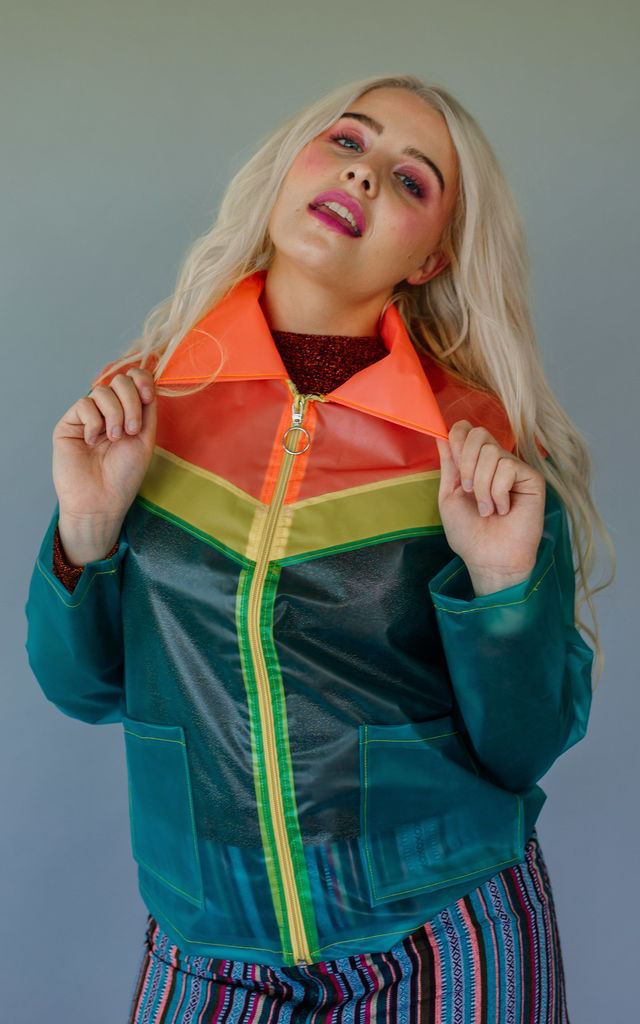 Multi-coloured Raincoat by Get Crooked
