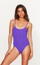 Classic Swimsuit in Violet by Toria Tonia