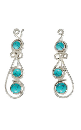 Free Spirit Turquoise Climbers by Charlotte's Web Product photo