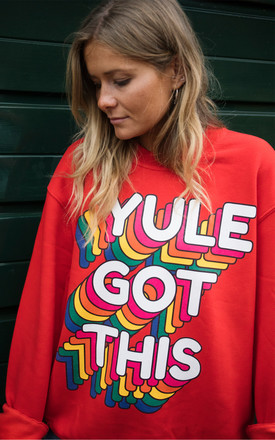 Yule Got This Women's Christmas Jumper by Batch1