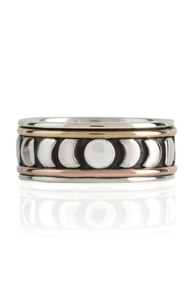 Moon Phase Spinning Ring by Charlotte's Web Product photo