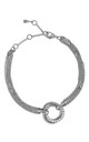 CAMEO SILVER CIRCLE TWIST BRACELET by Belle & Beau