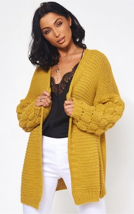Alessa cardigan in Mustard by The Fashion Bible