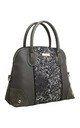 GLITTERY SHELL SHAPED TOTE BAG by BESSIE LONDON