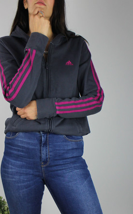 Vintage Adidas Jacket In Grey by Re:dream Vintage Product photo