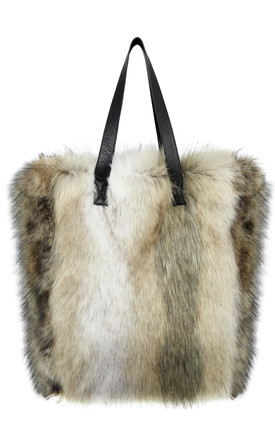 Faux Fur Bag Husky by Urbancode London