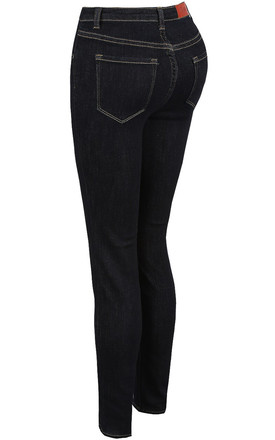 Toxik 3 Dark Denim High Waisted Super Stretch Jeans by Azzediari Clothing