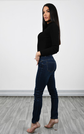 Push Up Denim Jeans by Lucy Sparks