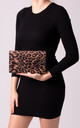 Mila Leopard Print Envelope Bag by KoKo Couture