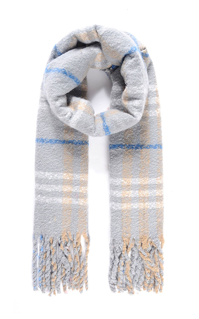 Ruby Rocks ALICIA Brushed Checked Scarf by Ruby Rocks Boutique