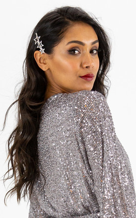 Gigi Silver Star Hairclip by Style Cheat