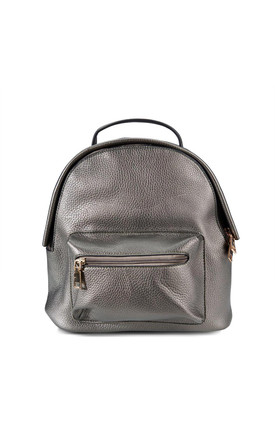 Gunmetal Grey Mini Backpack by ThreeSixFive Product photo