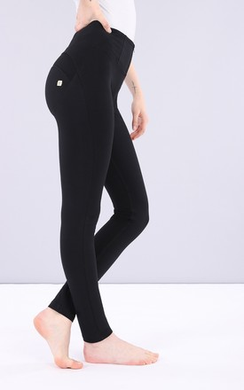 High Waisted Freddy Trousers In Black by Freddy Product photo
