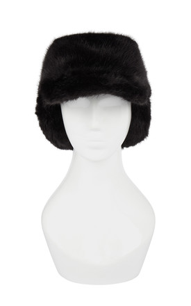 Sage Black Trapper Hat by Urbancode London Product photo
