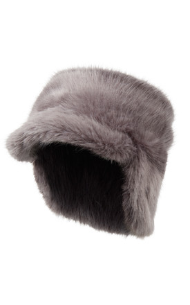 Sage Grey Trapper Hat by Urbancode London Product photo
