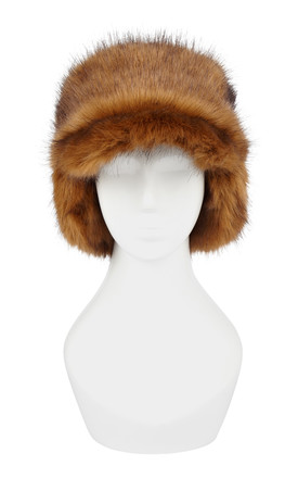 Sage Grizzly Black Trapper Hat by Urbancode London Product photo