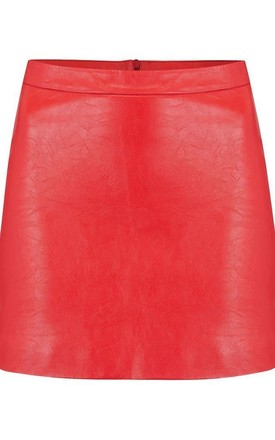 Harley Skirt In Red by Dancing Leopard