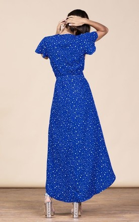 Cayenne Dress in Royal Star by Dancing Leopard