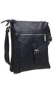 3 Pocket Messenger bag NAVY by BESSIE LONDON