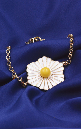 Daisy Bracelet in Gold by Silver Rain