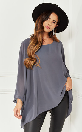 Grey Batwing Top by Bella and Blue Product photo