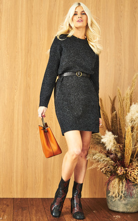 Jumper Dress In Black by VM Product photo