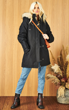 Padded Parka In Black by VM Product photo