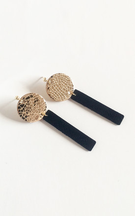 Gold Circle Bar Stack Stud Earrings by Isabel Wong Product photo