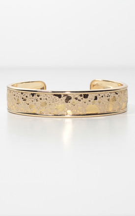 Gold Cuff Bracelet by Isabel Wong Product photo
