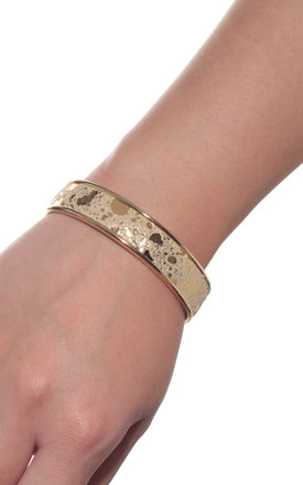 Gold Cuff Bracelet by Isabel Wong