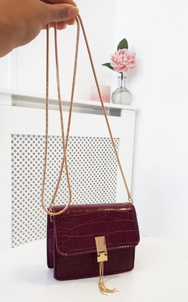 Pam Micro Mini Bag in Wine by IKRUSH