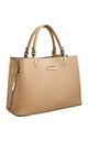 CLASSIC 3 COMPARTMENT TOTE CAMEL by BESSIE LONDON