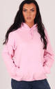 Baby Pink Oversized Hoodie by LimeBlonde
