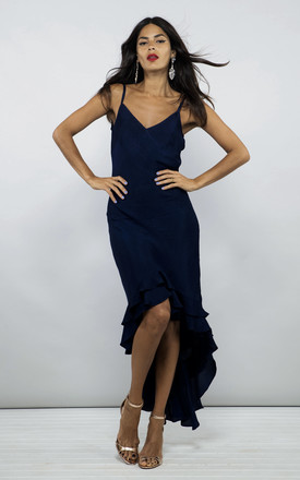 Fiorella Dress In Navy by Dancing Leopard