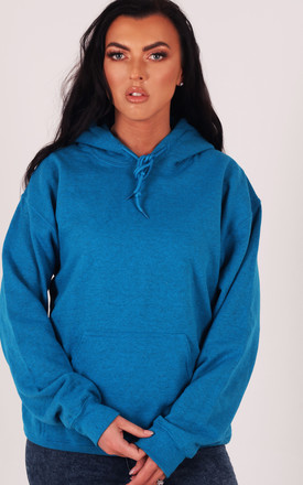 Sapphire Blue Oversized Hoodie by LimeBlonde