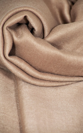 Soft Cotton Headscarf - Beige by Neish Clothing