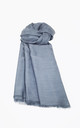 Soft Cotton Headscarf - Grey by Neish Clothing