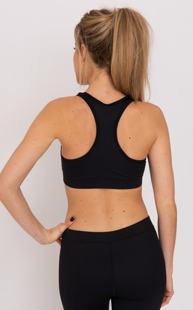 Daisy Logo Detailed Racer Back Sports Bra by Daisy & Co London