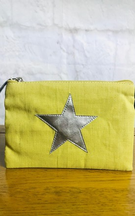 Yellow Star Purse by Pink Lemonade Boutique