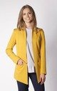 Long Asymetric Jacket in Yellow by By Ooh La La