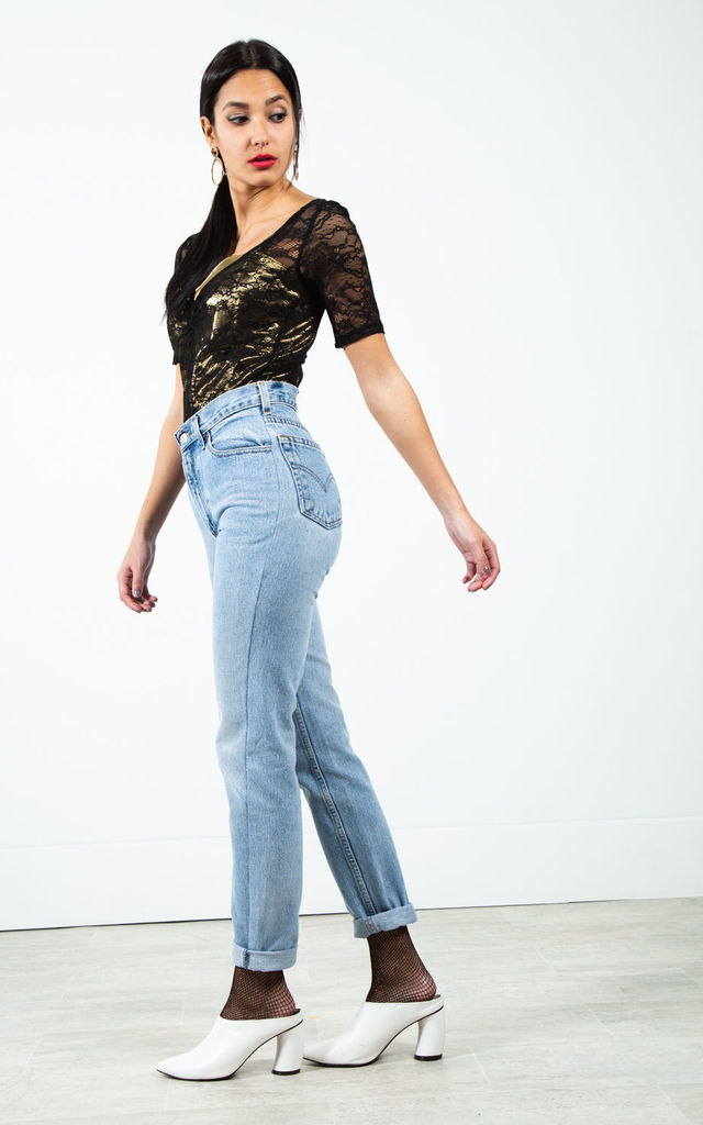 "Vintage 80s Levi's Mom ""Ligth-Wash"" Jeans / 0197 by Avelinas Vintage"