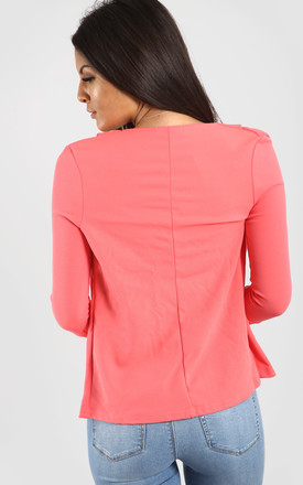 Eli Cropped Sleeve Blazer In Neon Pink by Oops Fashion