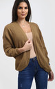 Jess Open Cardigan In Mocha by Oops Fashion