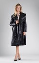 Padded Coat with Hood in Black by By Ooh La La