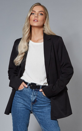 Single Breasted Blazer In Black by VILA Product photo