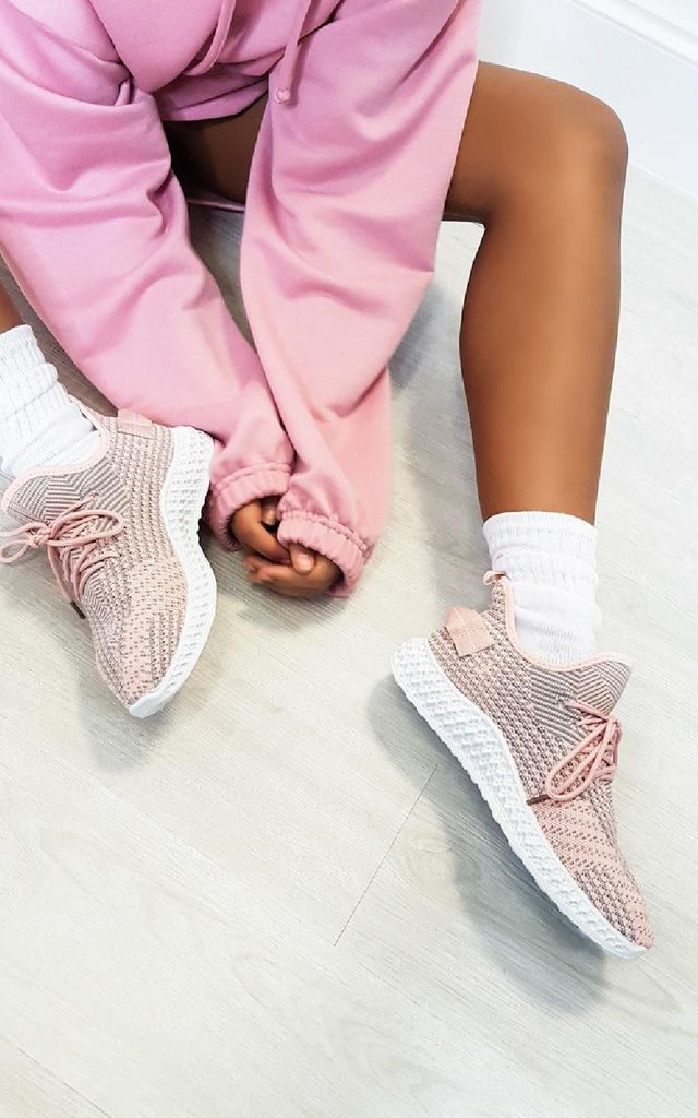 Quinn Lace Up Sock Trainers by IKRUSH