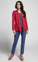 Red Double Button Jacket by By Ooh La La