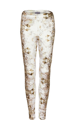 Ve Ve Velour High Waisted Leggings In Organic Print by COCOOVE Product photo