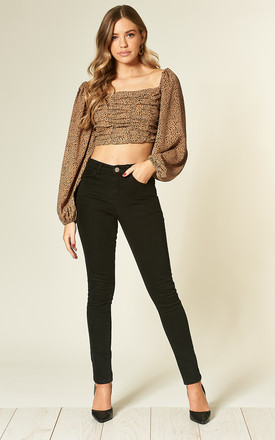 Black skinny jeans by Fever London